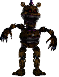 Twisted Fredbear by 133alexander