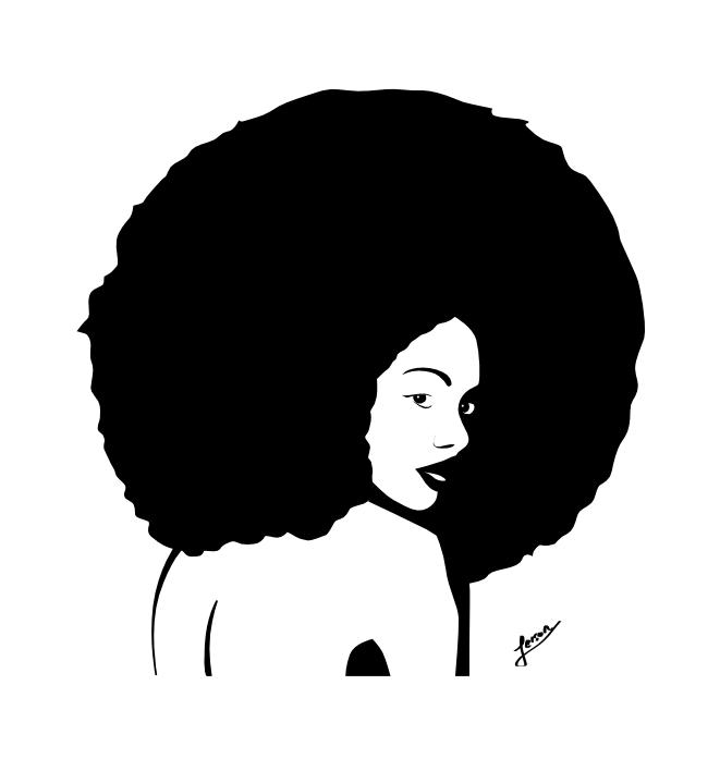 Natural Hair Logo Wallpaper