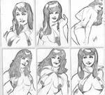 Vampirella sketch card
