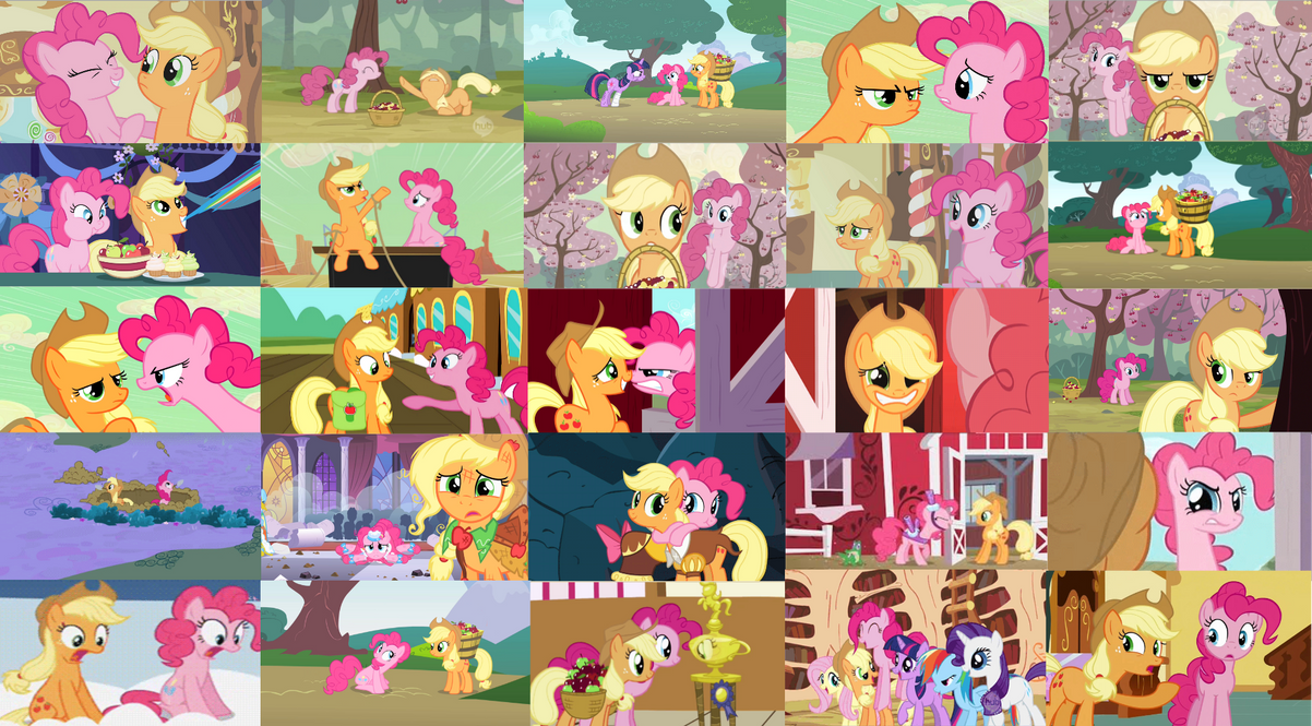 Applepie Collage by ThePoneSenpai