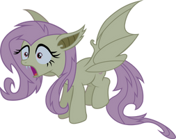 Flutterbat is Surprised by xHalesx