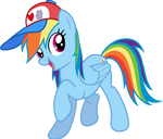 Rainbow Dash and Her Hat