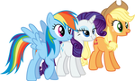 The Three (Older) Sisters by xHalesx