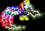 Queen Melody Heartdrop Crystal Fireruby Diamond by xHalesx