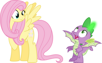 Fluttershy and Spike Get Summoned | [C] by xHalesx