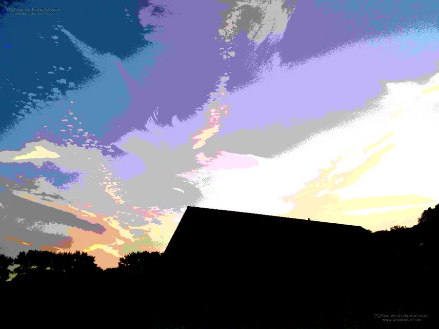 Sky - Split tone by Tazunee