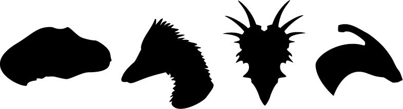 Dinosaur Symbols by Lightsfire