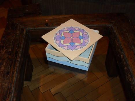 Paper mache box 1