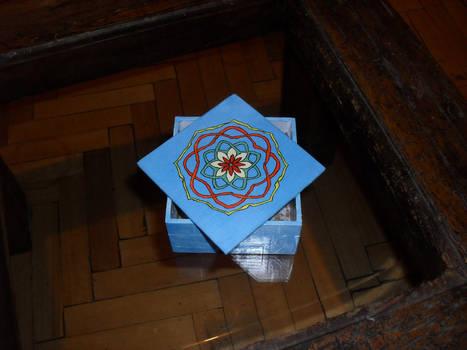 Paper mache box 2