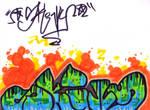 Skivvy graff new skool