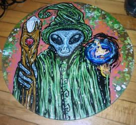 Alien wizard