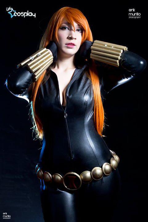 Black Widow - Natasha Romanova Cosplay by ivisama