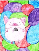 A CUTE PIGGY BANK by tom-kaulitz-lover