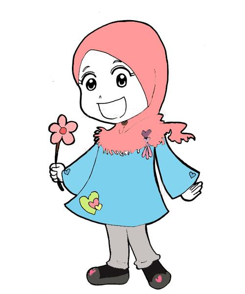 Cartoon+muslimah+wallpaper