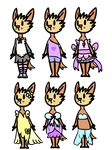 Charis Outfits