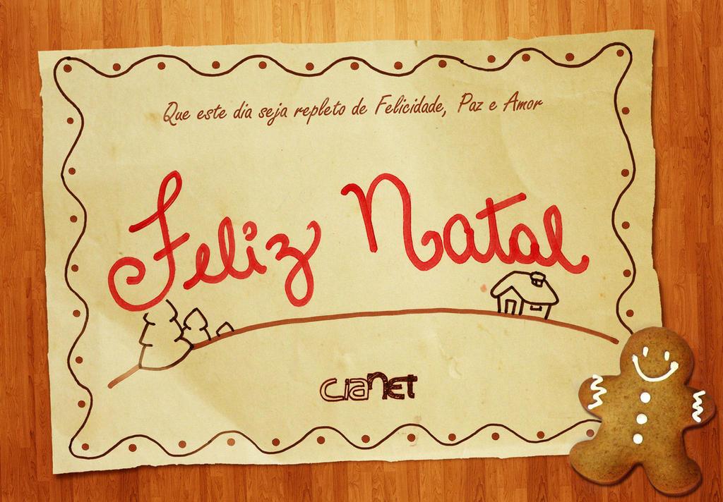Cartao Natal Cianet by JohwMatos