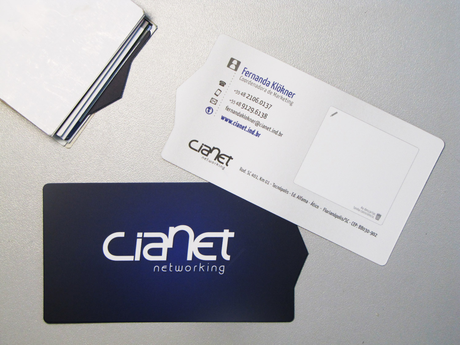 New Cianet Business Card by JohwMatos