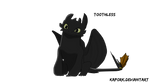 Toothless by Kapork