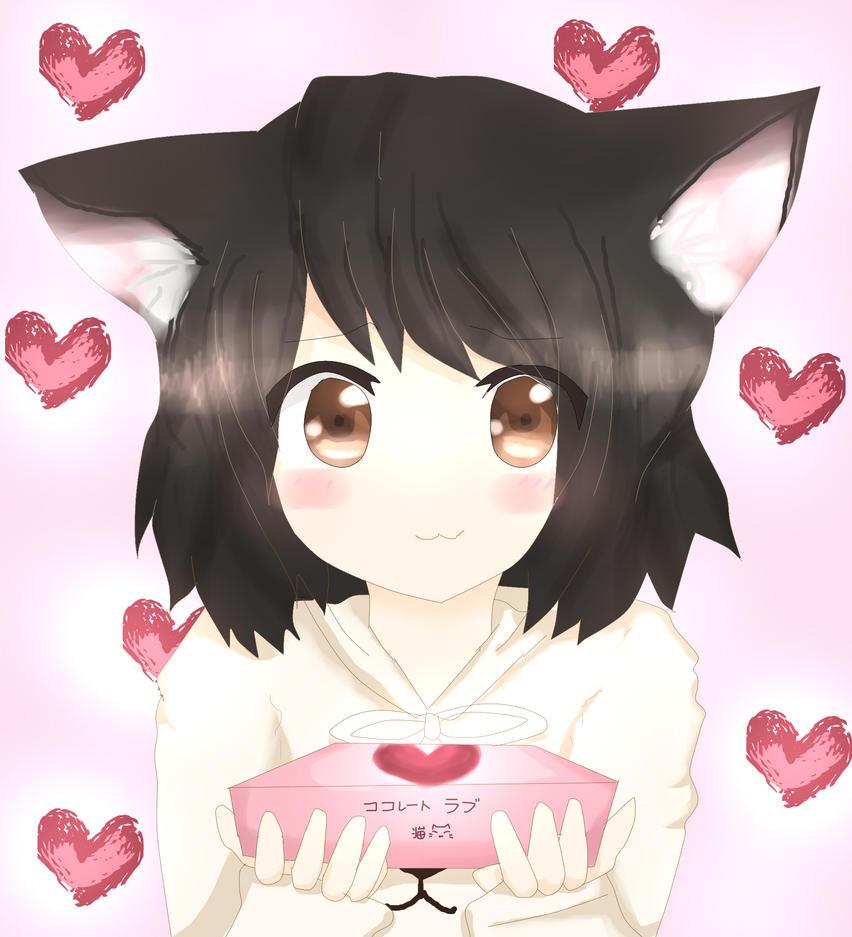 Valentine :3 by nyaku-dono
