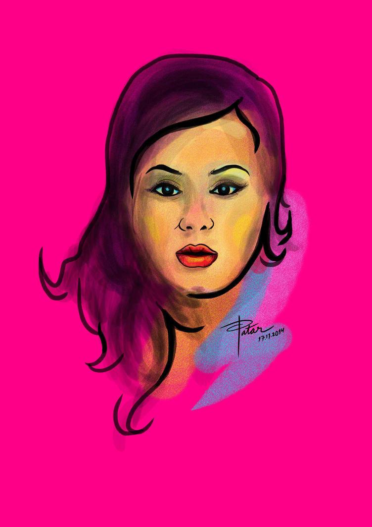 Pink Lady by PatArt