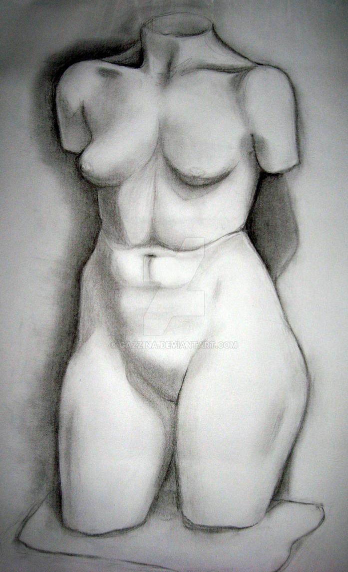 Figure Study by gazzina