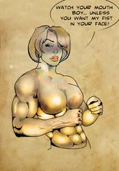 power girl test by farfali1982