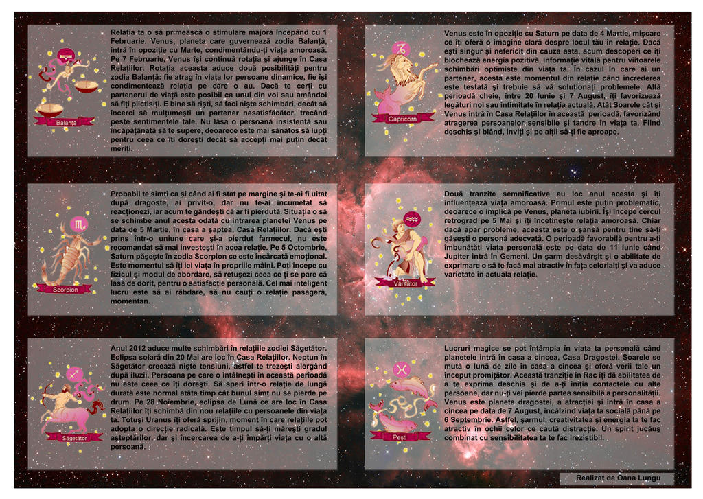 relationship horoscope for 2012