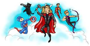 Avengers! by DarianKite