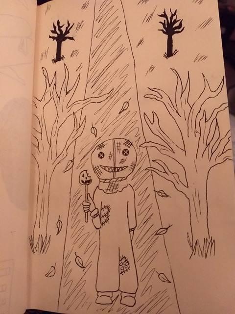 Inktober Day 28: Fall by demonbarber