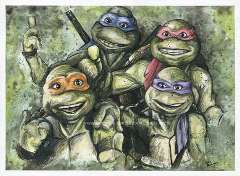 Teenage Mutant Ninja Turtles - Painting