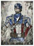 Captain America - Chris Evans - Portrait