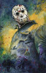 Jason - Friday The 13th Painting