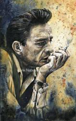 Johnny Cash - Painting