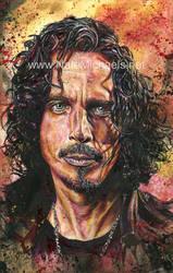 Chris Cornell - Mixed Media