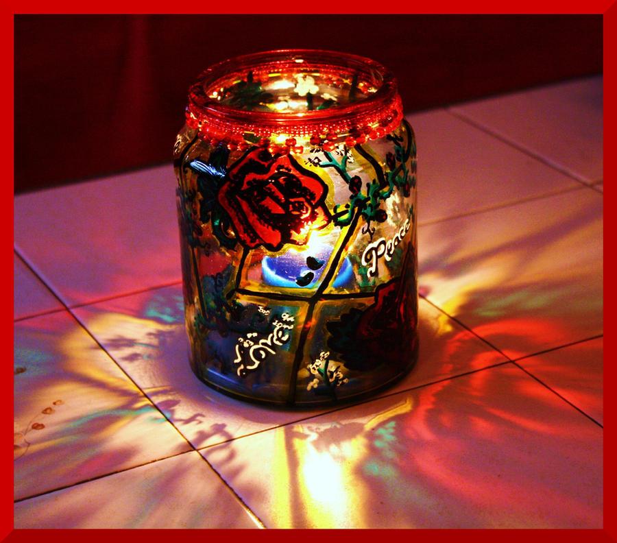 Rose Jar by Bonniemarie