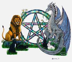 The Pentagram Guardians