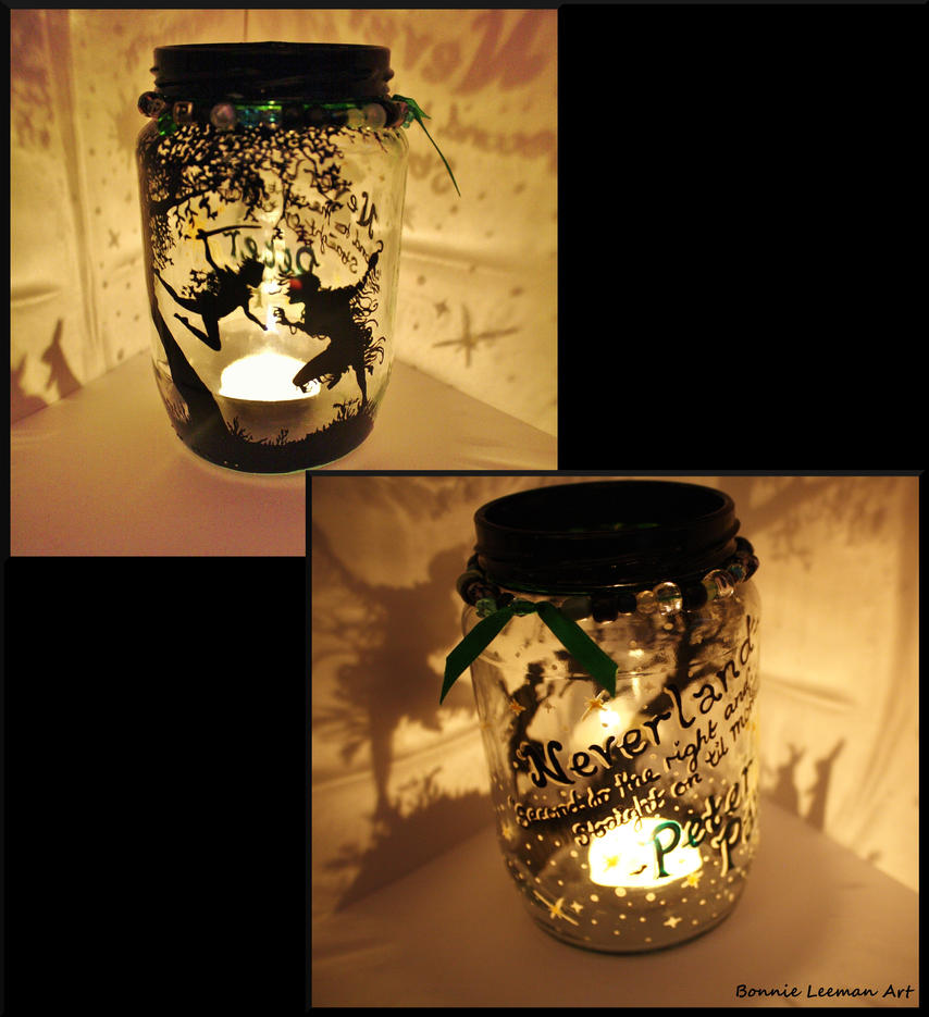 Peter Pan Candle Holder by Bonniemarie