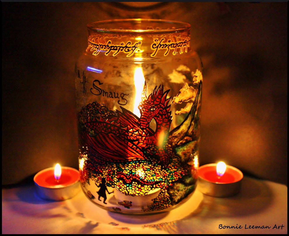 Smaug Candle Holder by Bonniemarie