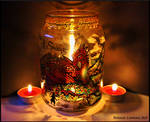 Smaug Candle Holder by BonnieLeeman