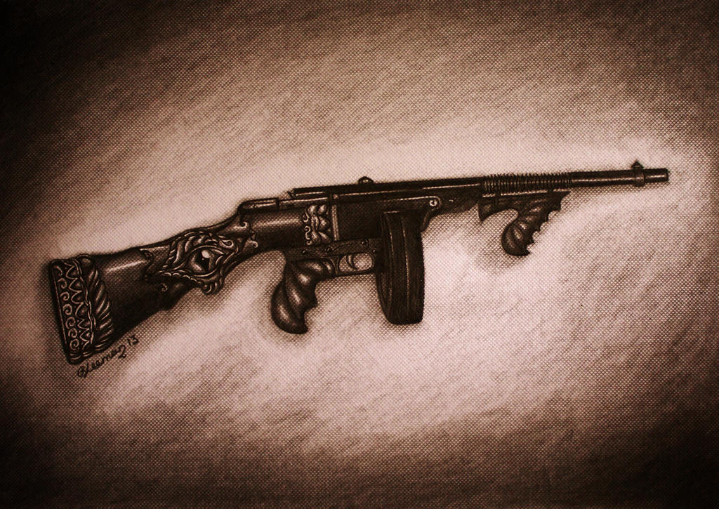 Tommy Gun by Bonniemarie