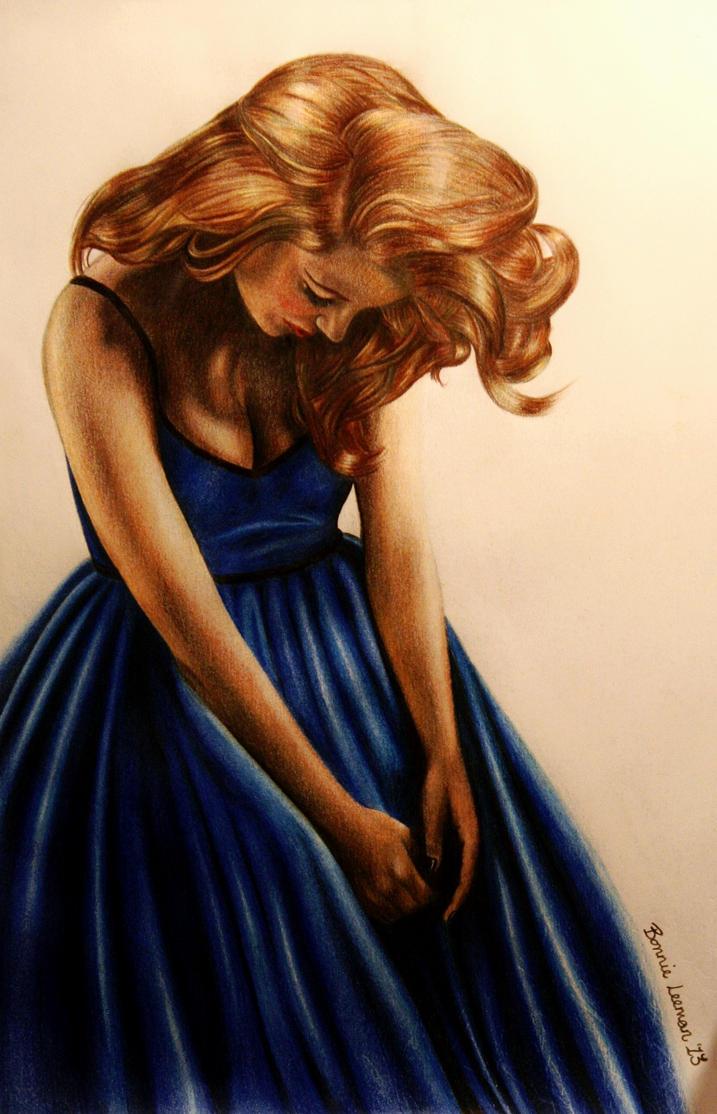 Blue by Bonniemarie