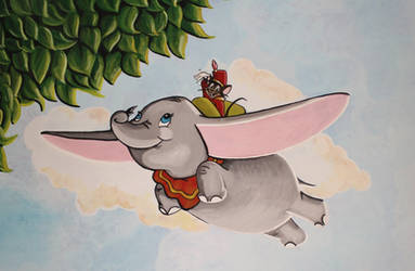 Dumbo Mural Painting