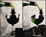 Maleficent Wine Glass