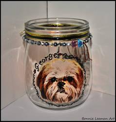 Dog Candle Holder
