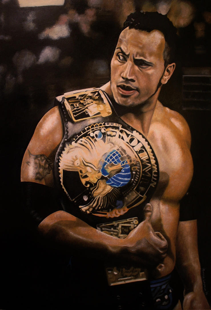 Dwayne 'The Rock' Johnson by Bonniemarie