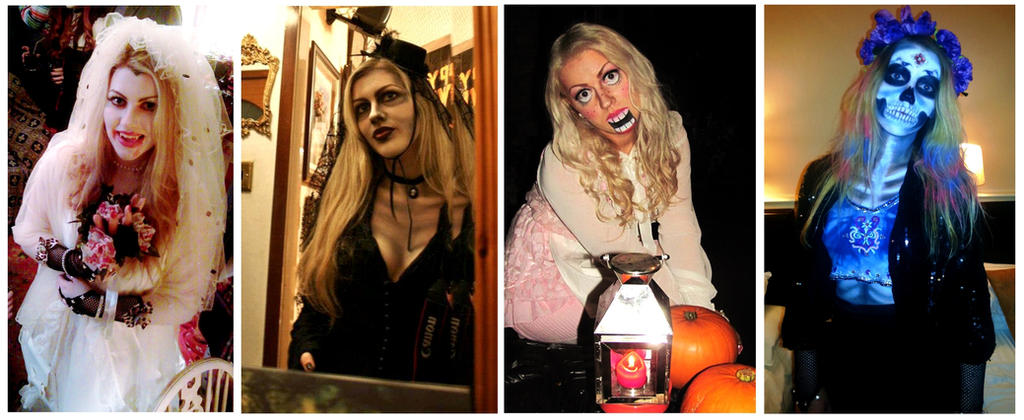 My Halloween Fancy Dress Outfits by Bonniemarie