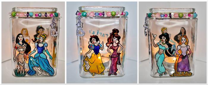 Disney Princesses Candle Jar 2