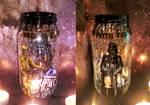 Star Wars Candle Jar