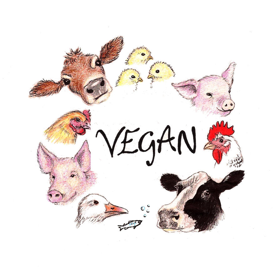 Vegan by Bonniemarie