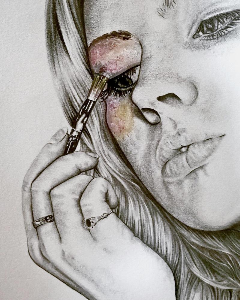 Colour Me detail by Bonniemarie